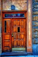 Wooden Doorway, NYC