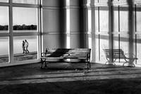 Lake Harriet Band Shell with Bench