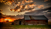 Barn at Sunrise #2